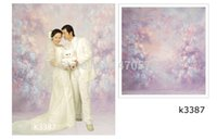 Wholesale 3X6m Hand Painted Muslin photography background bokeh custom children wedding Photography backdrops for Photo studio K3387