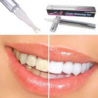 Whitening Pen Carbamide peroxide,Carbopol,stabilizer 0001 Teeth Whitening Pen Soft Brush Applicator For Tooth Whitening Dental Care Whitener Gel Cheapest Teeth whiter Gold Silver Color Free Shipping