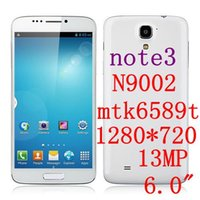 Cheap Note 3 n9000 N9002 Android Phone 6.0 IPS inch MTK6589T quad core 1.5GHz 2GB RAM 32GB ROM 1920*1080 3G Dual SIM cellphone