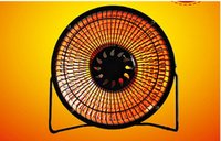 fan heater - 2015 Hot Sale Rushed Household Electric Heater Small Solar Heating inch Large Two Tranches Fan Office Desktop Mini Air Heaters