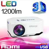 lcd projector hd - Hot Sell Mini UC30 Home Theater D Cinema Digital Multimedia LCD LED Portable Pocket Projector Lumens Support P HD HDMI USB