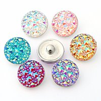 Wholesale JACK88 Vintage Snaps Jewelry mm Multicolor Mixed Ginger Snap Buttons For Snap Button Bracelet M772
