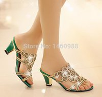 Wholesale Fashion high heel flip flop