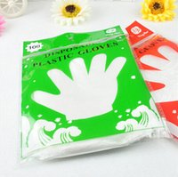 Wholesale 100 per pack Disposable gloves PE health gloves home daily necessities household goods Kitchen cooking supplies