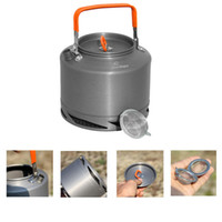 aluminum tea kettle - Fire Maple L Outdoor Camping Picnic Heat Collecting Kettle with Filter Aluminum Cookware Tea Coffee Pot Water Bottle FMC XT2