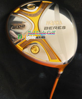 honma golf clubs - New Golf clubs Driver HONMA BERES S Golf clubs loft with Honma golf graphite shafts headcover golf driver