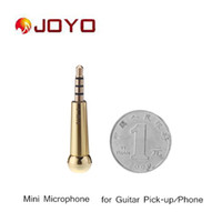 Wholesale Joyo Mini Mic Microphone Guitar Pick up for iPhone Samsung iOS Android Windows System Guitar Parts Accessories I463
