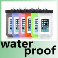 Wholesale PVC Waterproof Diving Bag For Mobile Phones Underwater Pouch Case For iphone s s plus For samsung galaxy s3 s4 s5 Note2