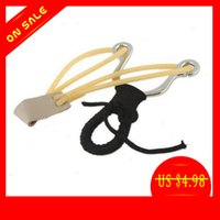 Wholesale Stainless Powerful Wrist Brace Support Shot Slingshot Catapult Outdoor Hunting