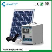 Cheap DC Solar Power system Best 60w DC Solar Power system