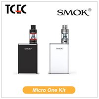 battery update - 2015 Authentic Smok Micro One Starter Kit Micro TFV4 Tank Adjustable Capacity and Updated M80 Version R80 TC Box Mod mAh Battery