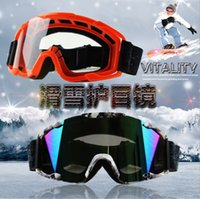Wholesale Motorcyclist equipment off road racing helmet goggles ski goggles Anti wind dust proof Motorcycle goggles riding glasses