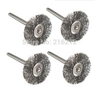Wholesale Steel Wire Wheel Brushes for Dremel Accessories For Rotary Tools