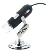 Microscopio Digital F05349 portátil lupa del endoscopio de la cámara 8 LED 500X USB con soporte titular