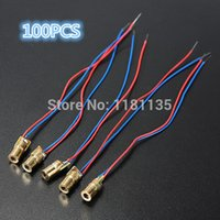 Wholesale For DC V mW nm mm Laser Dot Diode Module Red Copper Head Tube Dot shaped