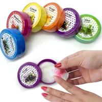 acrylic tissue - Nail Art Polish Acrylic Gel Nail Polish Remover Soft Cotton Pad Nail Wipes Necessities Nail Cleaning Wipes Cleaning Tissue