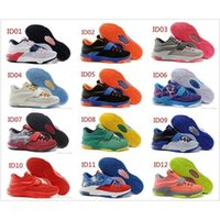 Cheap 2015 Factory direct for 12 colors of KD 7 Men Sport Sneakers Basketball Shoes 1 pair of freeshipping Sneakers