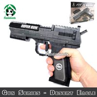 Wholesale New Real Model Building LegoToys Blocks Gun Series Desert Eagle Classic Toys and Children s Product