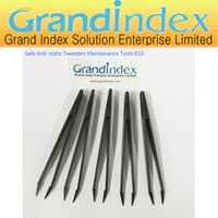 Wholesale 5pcs Safe Anti static Tweezers Maintenance Tools ESD ESD