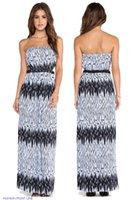 strapless maxi dress - Strapless Maxi Dress LC6544