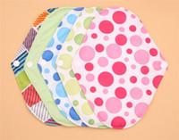 Wholesale 2015 U PICK Heavy Flow Charcoal Bamboo Cloth Pads Menstrual Sanitary Maternity Mama Pads Reusable Washable