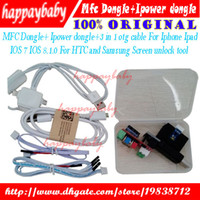 Wholesale MFC Dongle Ipower dongle in otg cable For Iphone Ipad IOS IOS For HTC and Samsung Screen unlock tool