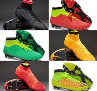 Wholesale Outdoor football boots Superfly FG acc soccer boots Handsome men magista obra soccer shoes