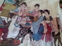 Wholesale It s a representative of Chinese culture Use KMC import embroidery thread It s one of China s four classical quot A Dream Of Red Mansions quot