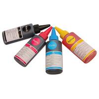 al por mayor conjuntos de recarga de tinta-4 piezas 1 juego 100ml universal Calidad General Rellenado tinte kits de tinta para HP Canon para Samsung para Epson para Brother Inkjet Printer