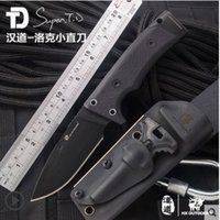 Wholesale D2 Steel blade knife Tactical camping hunting outdoors pocket survival knives Utility Tools Outdoor EDC hand tools