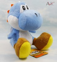 baby birthday games - 18cm Super Mario Games Yoshi Dragon Toy Anime Stuffed Plush Collection Doll Toys For Christmas Baby Healthy Birthday Gift