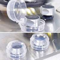 baby stove safety - Safety Kitchen Gas Hood Knob Switch Protection Cover Stove Knob Cover baby Safety
