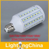 SMD 20w led bulb - New Arrival LED Corn Bulb W W W W W W W W W Epistar SMD5730 E27 LED Bulbs AC110 V Warm White Cool White Year Warranty