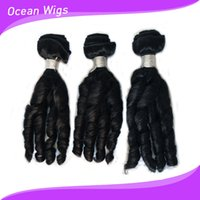 Wholesale Fumi hair Brazilian virgin remy human hair weave double weft hair bundles natural color funmi hair extensions inch Quercy Hair