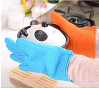 coated gloves - 10pcs Silicone Heat Resistant Grilling BBQ Gloves Set Best Value Perfect For Use As Cooking Gloves Baking Smoking