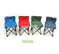 beach folding chairs - Portable Fishing camping BBQ Garden beach foldable Chair leisure occasional folding chair CN post
