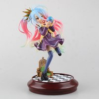 scale model figures - hot sale anime No Game No Life Imanity Shiro Scale Boxed PVC Action Painted Figure Collectible Model Toy cm