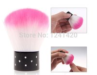 art problems - Still worried about dirty fingernails New Colorful Nail brush tools UV Gel Nail Art Dust Cleaner help you solve problems