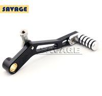 aluminum case feet - For YAMAHA MT07 FZ07 MT FZ Motorcycle CNC Aluminum Adjustable Gear Shift Foot Pedal Lever