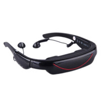 Wholesale 2D D quot Viewer Video Glasses Virtual Wide Screen Video Glasses Eyewear Mobile Private Theater with AV Input Card Slot