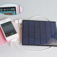 оптовых солнечная панель питания-оптовая солнечное зарядное устройство 5W Высокая эффективность наружной зарядное складной солнечный мешок зарядное устройство солнечная панель для мобильного телефона Power Bank MP3 4