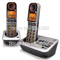 amplified system - GE ee2 DECT Amplified Cordless Phone Speakerphone with Caller ID and Digital Answering System Home Telephone