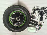 48V 500W Kit motore mozzo Grasso kit di pneumatici e-bike 48V 500W 10 pollici pneumatici