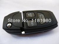 Wholesale car BUTTON REMOTE FLIP KEY SHELL CASE FOR VOLVO WITH PER WITH