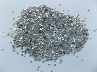 Wholesale 1440Pcs D Round Colorful Glitter Alloy Nail Art Rhinestone Tip DIY Decoration Nail Metal Acrylic Sticker