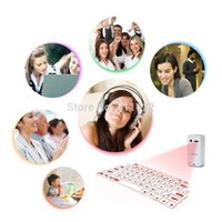 apple bluetooth touchpad - Atongm L1 Bluetooth Virtual Laser Projection Keyboard Touchpad for Apple amp Android Black