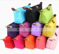 Wholesale 6 diffeen color NEW Fashion Lady s Travel Make Up Cosmetic pouch bag Clutch Handbag Casual Purse