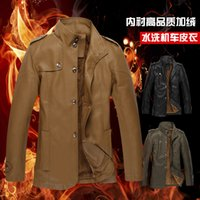 Cheap Men jacket Best Stand Collar Long Sleeve coat