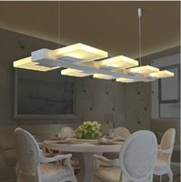 Wholesale modern pendant lamps led pendant lights kithen room pendant lamp dining room pendant lighting led Office lamps Acryl pendant Lights