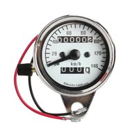 Wholesale General Motorcycle Mini Electronic Speedometer with Odometer Night Light